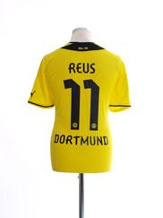 2013-14 Borussia Dortmund Home Shirt Reus #11 L