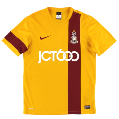 2013-14 Bradford City Home Shirt M