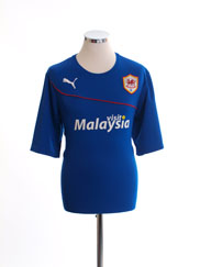 2013-14 Cardiff City Away Shirt L
