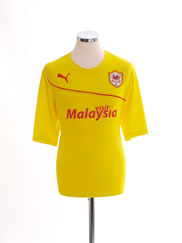 2013-14 Cardiff City Third Shirt L