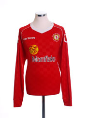 2013-14 Crewe Alexandra Home Shirt *Mint* L/S L