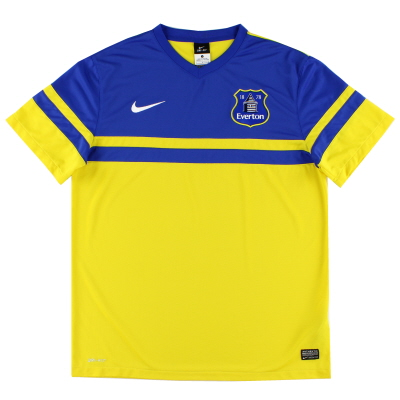 2013-14 Everton Away Shirt L