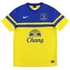 2013-14 Everton Away Shirt Lukaku #17 M