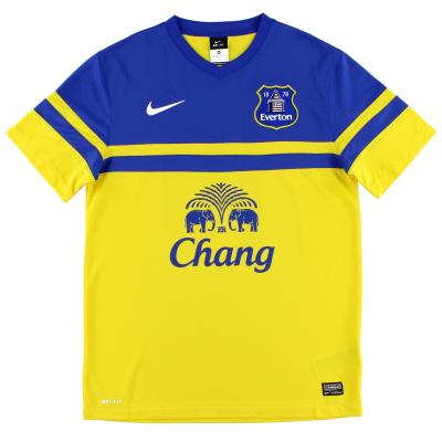 2013-14 Everton Away Shirt M