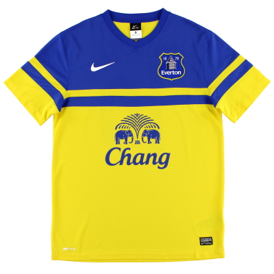2013-14 Everton Away Shirt S
