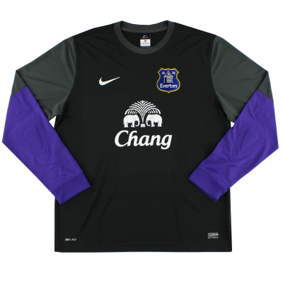 2013-14 Everton Goalkeeper Shirt XL