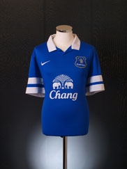 2013-14 Everton Home Shirt *Mint* M
