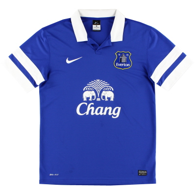 2013-14 Everton Home Shirt M