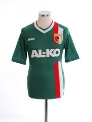 2013-14 FC Augsburg Home Shirt XS