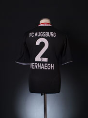 2013-14 FC Augsburg Third Shirt Verhaegh #2 M