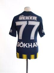 2013-14 Fenerbahce Home Shirt Gokhan #77 S