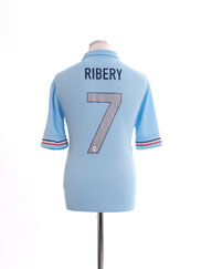 2013-14 France Away Shirt Ribery #7 M