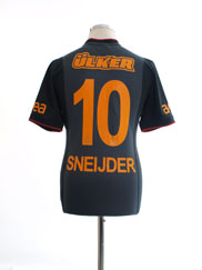 2013-14 Galatasaray Away Shirt Sneijder #10 S