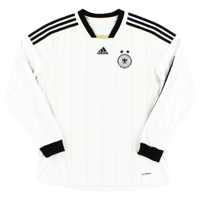 2013-14 Germany Womens Home Shirt L/S L