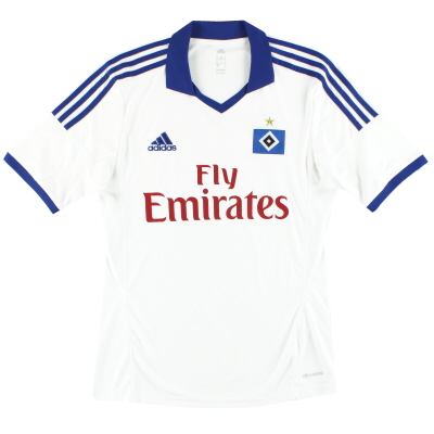 2013-14 Hamburg adidas Home Shirt S
