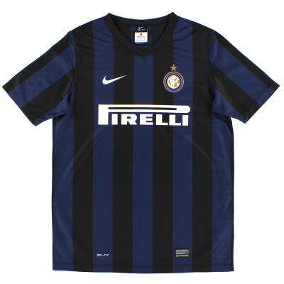 2013-14 Inter Milan Basic Home Shirt XL.Boys