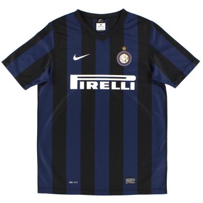 2013-14 Inter Milan Basic Home Shirt XL.Boys