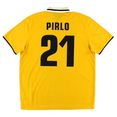 2013-14 Juventus Away Shirt Pirlo #21 *Mint* XL