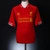 2013-14 Liverpool Home Shirt Coutinho #10 *Mint* M