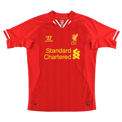 2013-14 Liverpool Warrior Home Shirt L