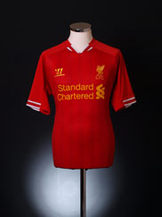 2013-14 Liverpool Home Shirt M