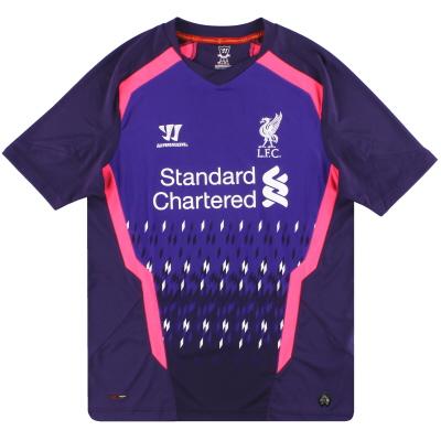 2013-14 Liverpool Warrior Goalkeeper Shirt M