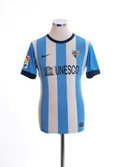 2013-14 Malaga Home Shirt XL.Boys