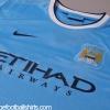 2013-14 Manchester City Home Shirt *Mint* M