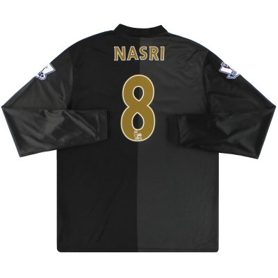 2013-14 Manchester City Nike Away Shirt Nasri #8 L/S L