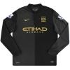 2013-14 Manchester City Nike Away Shirt Nasri #8 L/S L