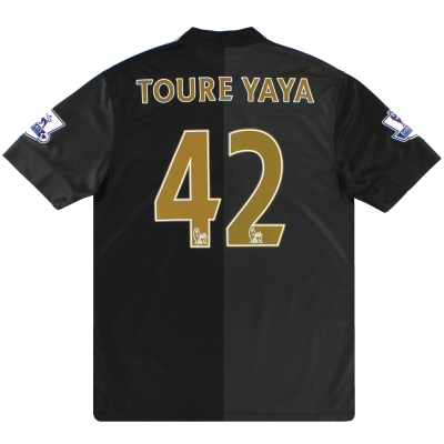 2013-14 Manchester City Nike Away Shirt Toure Yaya #42 M
