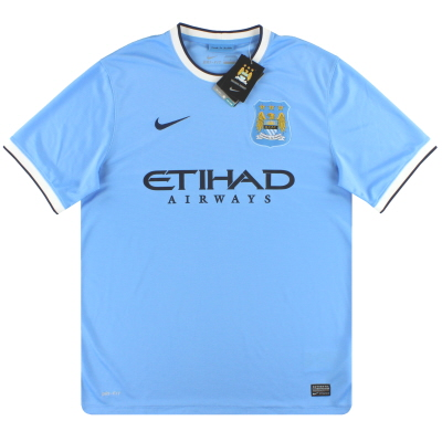 2013-14 Manchester City Nike Home Shirt *w/tags* XXL