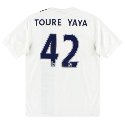 2013-14 Manchester City Nike Third Shirt Toure Yaya #42 M