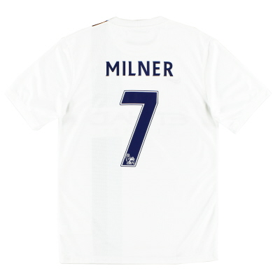 2013-14 Manchester City Third Shirt Milner #7 *Mint* S