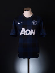 2013-14 Manchester United Away Shirt L
