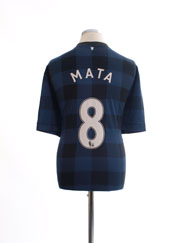 2013-14 Manchester United Away Shirt Mata #8 XXL
