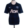 2013-14 Manchester United Away Shirt Mata #8 XXL