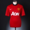 2013-14 Manchester United Home Shirt Giggs #11 XL