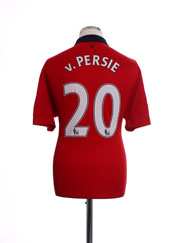 2013-14 Manchester United Home Shirt v.Persie #20 L