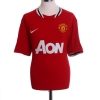 2013-14 Manchester United Home Shirt v.Persie #20 L
