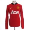 2013-14 Manchester United Home Shirt Mata #8 L/S S