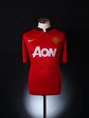 2013-14 Manchester United Home Shirt XL