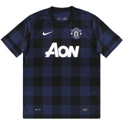 2013-14 Manchester United Nike Away Shirt XL.Boys