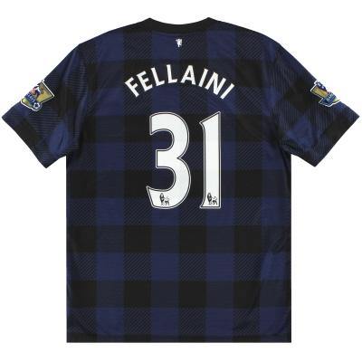 2013-14 Manchester United Nike Away Shirt Fellaini #31 L