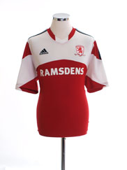 2013-14 Middlesbrough Home Shirt *Mint* L