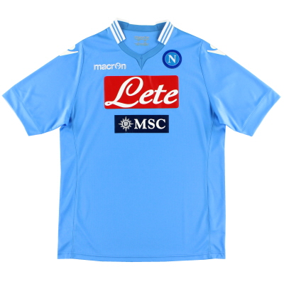 2013-14 Napoli Home Shirt *Mint* M