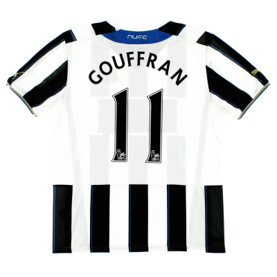 2013-14 Newcastle Home Shirt Gouffran #11 M