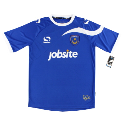2013-14  Portsmouth Home Shirt *BNWT* M