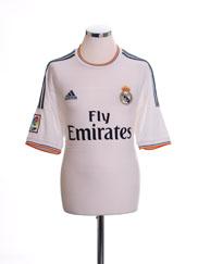 2013-14 Real Madrid Home Shirt *Mint* L