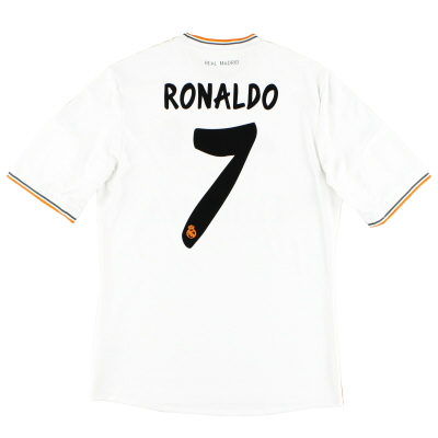2013-14 Real Madrid Home Shirt Ronaldo #7 *Mint* M